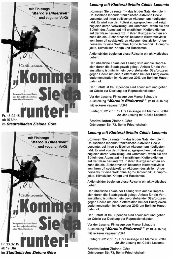 Flyer-soliveranstaltung