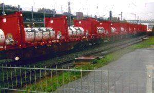 UF6 Zug durch Buchholz am 5.10.17